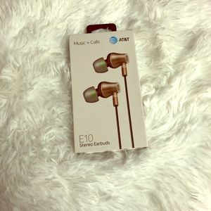 E10 Stereo Earbuds AT&T